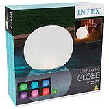 Плавающий светильник «Шар», 89 х 79 см, 68695 INTEX, фото 9