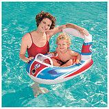 Лодочка надувная «Транспорт», от 3-6 лет, цвета МИКС, 34106 Bestway, фото 3