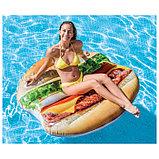 Плот для плавания «Гамбургер» 145 х 142 см, 58780EU INTEX, фото 2