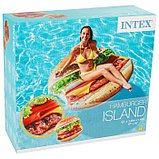 Плот для плавания «Гамбургер» 145 х 142 см, 58780EU INTEX, фото 3