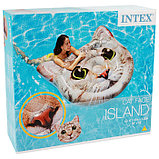 Матрас для плавания «Кот», 147 х 135 см, 58784EU INTEX, фото 3