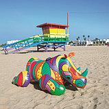 Плот для плавания «Поп-арт носорог», 201 х 102 см, 41116 Bestway, фото 4