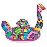 Плот для плавания «Поп-арт страус», 190 х 166 см, 41117 Bestway, фото 2