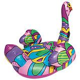 Плот для плавания «Поп-арт страус», 190 х 166 см, 41117 Bestway, фото 3