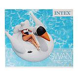Плот для плавания «Лебедь», 194 х 152 х 147 см, 56287EU INTEX, фото 2