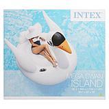 Плот для плавания «Лебедь», 194 х 152 х 147 см, 56287EU INTEX, фото 3