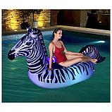 Плот для плавания «Зебра», с подсветкой, 254 x 142 см, 41406 Bestway, фото 3