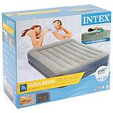 Кровать надувная Pillow Rest Queen,152 х 203 х 30 см, с встроенным насосом, с подголовником, 64118 INTEX, фото 6