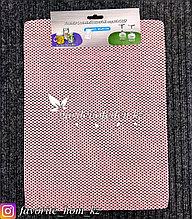 Универсальный коврик под посуду. Цвет: Розовый. Размеры: 300x400мм.