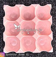 Лоток для яиц, пластиковый. Материал: Пластик. Цвет: Розовый.