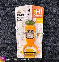 Нож для чистки овощей/ Открывалка для бутылок. Материал: Металл/Пластик. Цвет: Оранжевый.