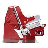 Электрический ломтерезка - слайсер для нарезки  Berkel Home Line 250, цвет красный, фото 2
