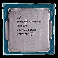 Процессор Intel Сore i3-8100, oem СPU 3.6 GHz (Coffee Lake), 4C/4T, 6 MB L3, UHD630/350, 65W, S 1151