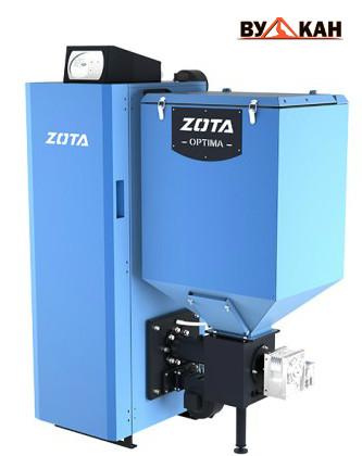 Автоматический твердотопливный котел ZOTA Optima-15 кВт