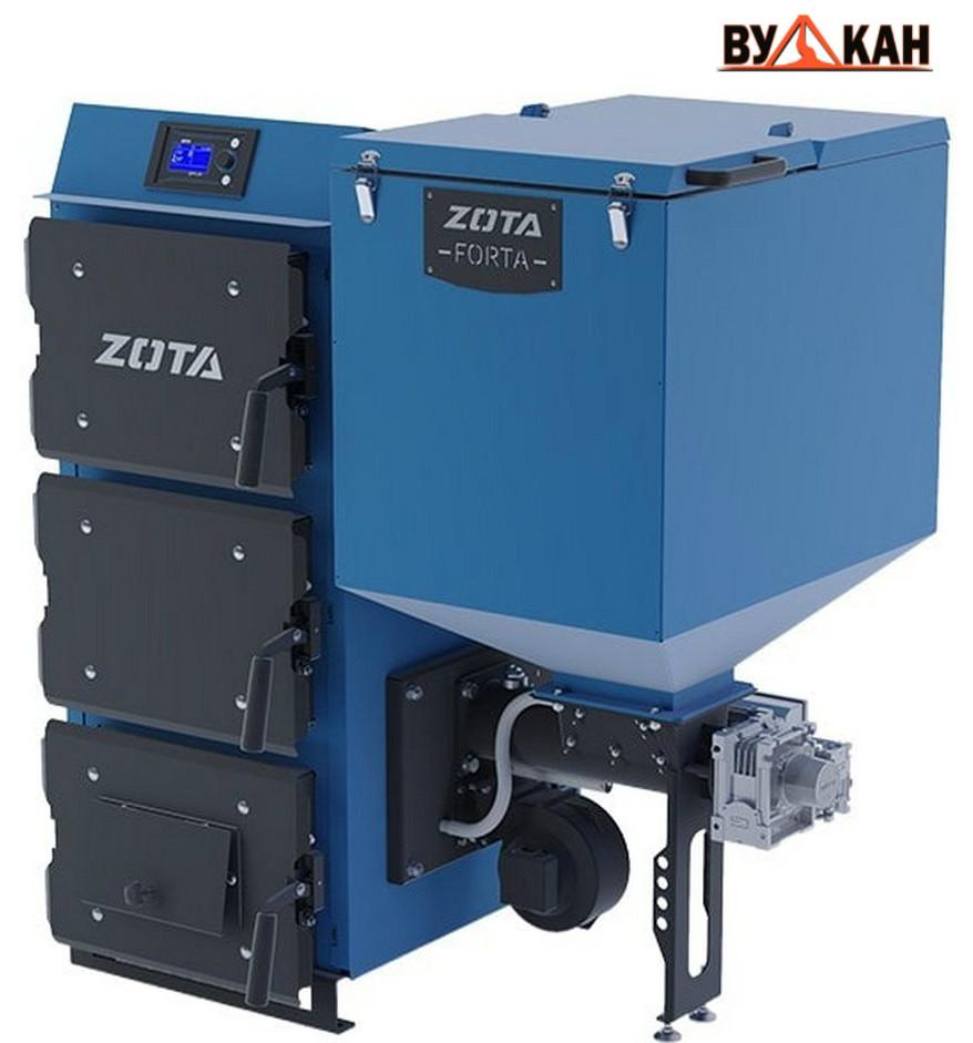 Автоматический твердотопливный котел ZOTA «Forta» 25 кВт