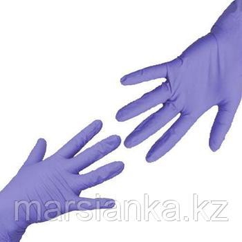 Перчатки UNIX Medical, нитриловые (Фиолетовые), размер М, 100шт.