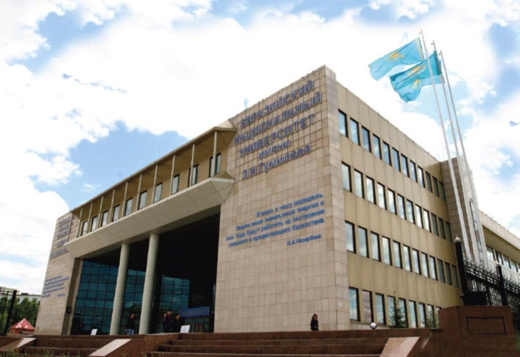 Освещение Евразийского Национального Университета им. Л.Н.Гумилева