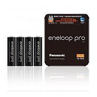 Аккумулятор Panasonic Eneloop Pro AA 2450 4BP (BK-3HCDE/4LE) 2500 mAh , 4 шт, блистер-кейс, AA
