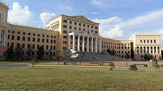 Освещение университета КазГЮУ им. М.С. Нарикбаева 1