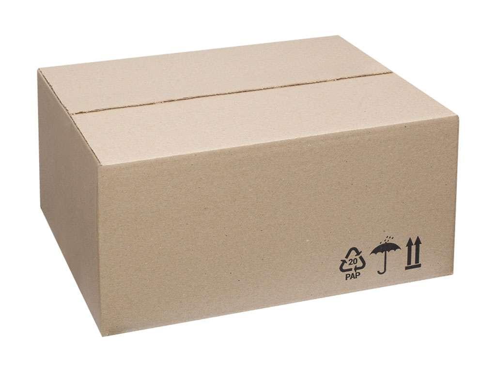 Короб OfficeSpace из гофрокартона, марка Т22, профиль В, 380х280х225 мм
