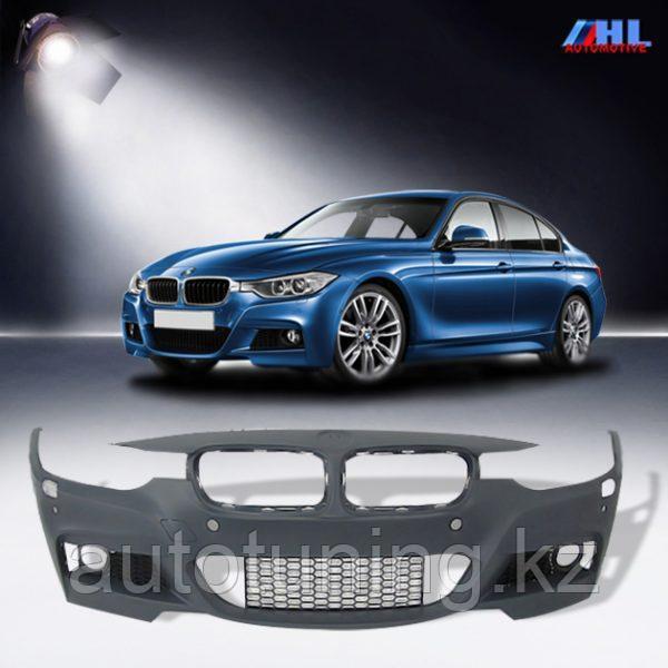 Бампер передний M-tech (М тех) на BMW f30 2012 +