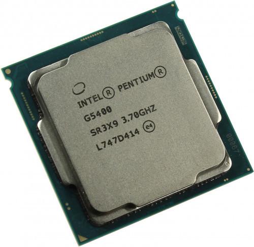 Процессор Intel Pentium Gold G5400, oem CPU 3.7 GHz (Coffee Lake), 2C/4T, 4MB L3, UHD610/350, 58W, Socket1151