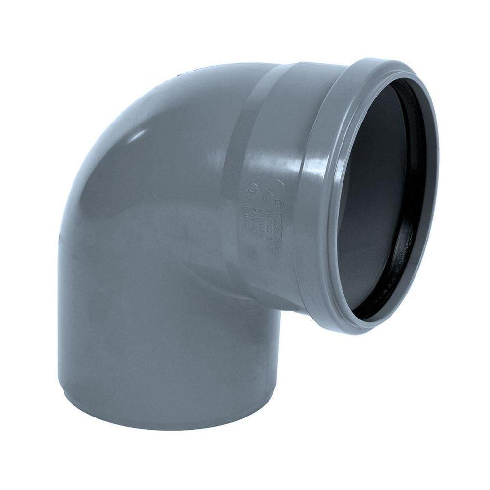 Отвод ПВХ 50 мм.