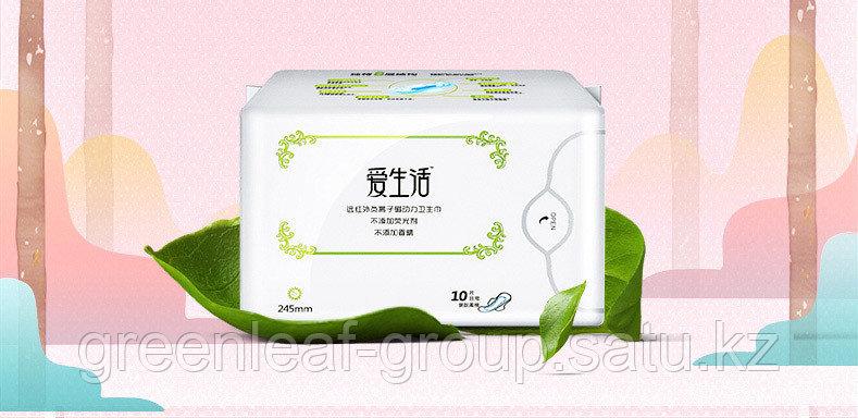 ILife Гигиенические прокладки (дневные) Greenleaf (Гринлиф)