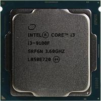 Процессор CPU S-1151 Intel Core i3 9100F 3.6 GHz (4.2 GHz Turbo), 4-Core, 6MB, Coffee Lake>OEM