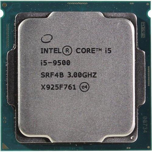 CPU Intel Core i5 9500 3,0GHz (4,4GHz) 9Mb 6/6 Core Coffe Lake Tray 65W FCLGA1151