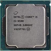 CPU Intel Core i5 9500 3,0GHz (4,4GHz) 9Mb 6/6 Core Coffe Lake Tray 65W FCLGA1151, фото 1
