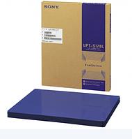 UPT-517BL Пленка для рентген принтера голубая, в листах, фото 1