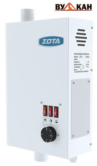 Электрокотел ZOTA «Balance» 7.5 кВт.