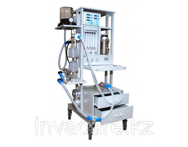 Аппарат для ингаляционного наркоза Полинаркон -12 с приставкой ИВЛ ЭМО-200 с Госрезерва, 2007 г.