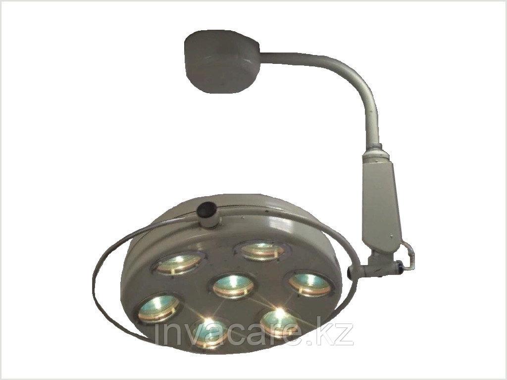 Светильник операционный СМ-36 (7-ми рефлекторный ) хирургический стационарный с аварийным питанием