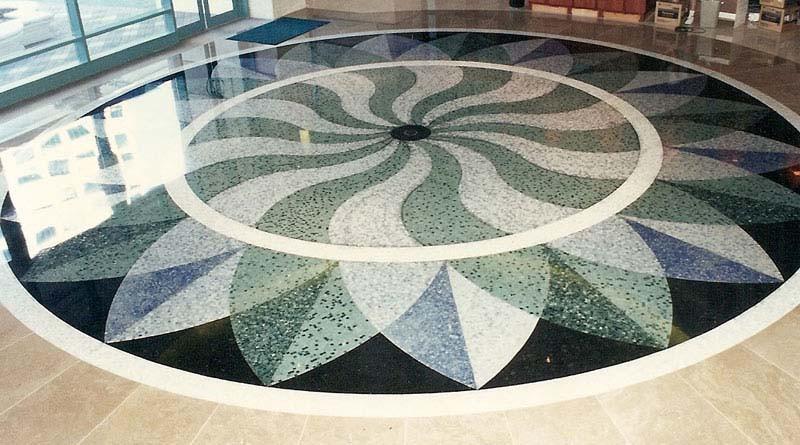 Мозаичные полы Терраццо