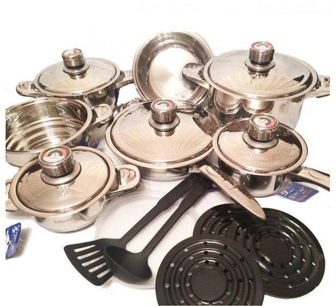 Набор кухонной посуды «Zepter», 19 предметов