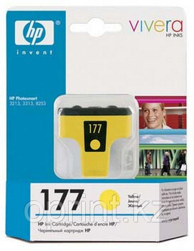 Картридж HP 177 желтый
