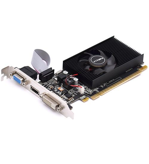 Видеокарта Sinotex Ninja GT710 DDR3, 2 GB SVGA PCI Express, GT 710 DVI/HDMI/VGA, 64bit, [NK71NP023F]