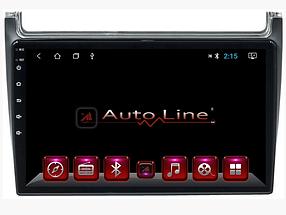 Автомагнитола AutoLine ANDROID 8.1.0 VOLKSWAGEN POLO 2011-2017 HD ЭКРАН 1024-600 ПРОЦЕССОР 4 ЯДРА (QUAD CORE)