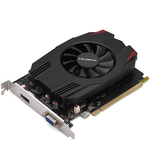 Видеокарта Colorful GT1030, 2 GB SVGA PCI Express, VGA/HDMI, GDDR5/64bit, [GT1030 2G V3 EA2V]