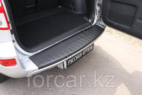 Накладка на задний бампер Toyota Rav4 2011-2012, фото 2