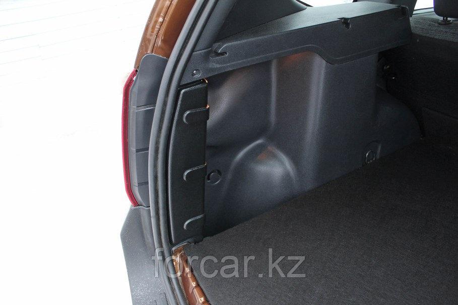 Накладки на боковые стойки багажника Renault Duster 2010-