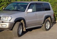 Расширители колесных арок Toyota LC 100 1998-2007, фото 2