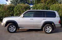 Расширители колесных арок Toyota LC 100 1998-2007, фото 3