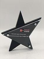 Награда в форме звезды из акрила