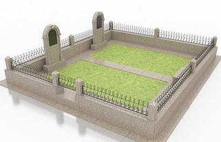 Мусульманские могилы и их благоустройство