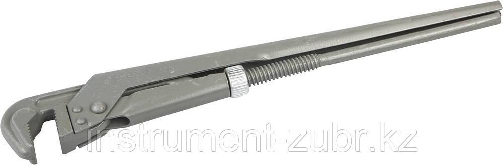 Ключ трубный рычажный НИЗ, № 2, 400мм