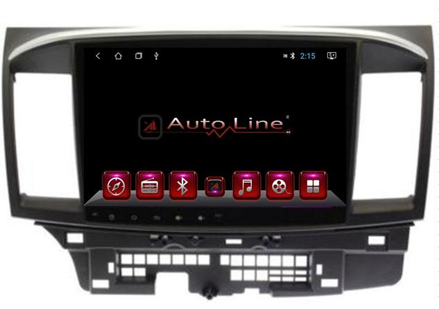 Автомагнитола AutoLine ANDROID 7.1.1 MITSUBISHI LANCER 2007-2015 HD ЭКРАН 1024-600 ПРОЦЕССОР 4 ЯДРА (QUAD CORE