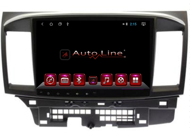 Автомагнитола AutoLine ANDROID 7.1.1 MITSUBISHI LANCER 2007-2015 HD ЭКРАН 1024-600 ПРОЦЕССОР 4 ЯДРА (QUAD CORE, фото 2